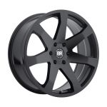 18x8.5 Black Rhino Mozambique MATTE BLACK