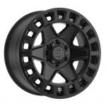 17x9 Black Rhino York MATTE BLACK