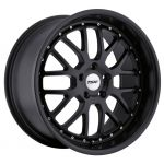 17x8 TSW Valencia All Matte Black