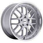 18x9.5 TSW Valencia Silver w/ Mirror Lip