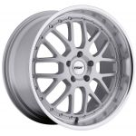 - Staggered full Set -(2) 20x8.5 TSW Valencia Silver w / Mirror Lip(2) 20x10 TSW Valencia Silver w/ Mirror Lip