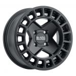 15x7 Black Rhino York UTV MATTE BLACK