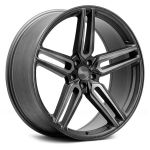 20x10 Vossen Hybrid Forged HF-1 Tinted Matte Gunmetal (Flow Formed)