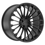 - Staggered full Set - (2) 21x9 Victor Equipment Wurttemburg Matte Black w/ Gloss Black Face (Rotary Forged)(2) 21x10.5 Victor Equipment Wurttemburg Matte Black w/ Gloss Black Face (Rotary Forged)
