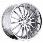 - Staggered full Set -(2) 20x8.5 Coventry Whitley Chrome(2) 20x10 Coventry Whitley Chrome