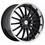 19x8.5 Coventry Whitley Gloss Black