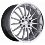 18x9.5 Coventry Whitley Hypersilver
