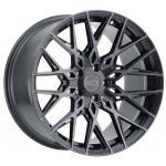 20x10 XO Phoenix Gunmetal w/ Brushed Gunmetal Face (Rotary Forged)