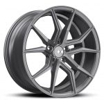 - Staggered full Set - (2) 19x10 XO Verona All Matte Gunmetal(2) 20x11 XO Verona All Matte Gunmetal