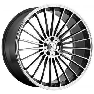 17x8 Mandrus 23 Gunmetal w/ Machined Face