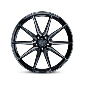 20x9.5 Vossen HF-3 Gloss Black (Hybrid Forged)