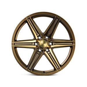 20x9.5 Vossen HF6-2 Tinted Matte Bronze (Hybrid-Forged)