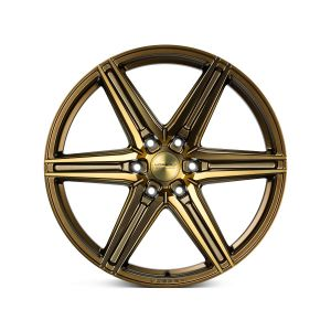 22x9.5 Vossen HF6-2 Tinted Matte Bronze (Hybrid-Forged)