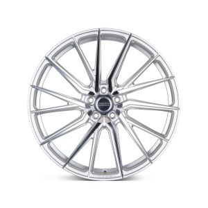 22x9.5 Vossen HF-FT Silver Polished (Hybrid Forged)