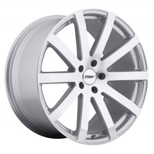 17x8 TSW Brooklands MATTE BLACK