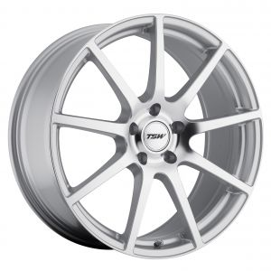 17x8 TSW Interlagos MATTE BLACK