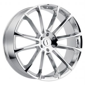 22x9.5 Status Goliath CHROME