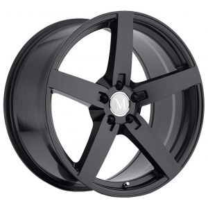 18x9.5 Mandrus Arrow All Matte Black (Rotary Forged)