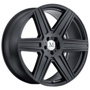 19x8.5 Mandrus Atlas All Matte Black