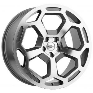 20x9.5 Redbourne Bashford Gunmetal w/ Mirror Cut Face