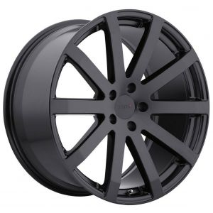 - Staggered full Set -(2) 18x8 TSW Brooklands Matte Black(2) 18x9.5 TSW Brooklands Matte Black
