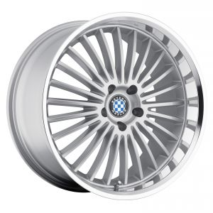 17x8 Beyern Multi Spoke Silver