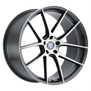 17x8 Beyern Ritz Black Gloss