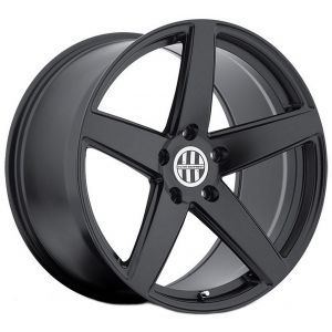 18x10.5 Victor Equipment Baden All Matte Black (Rotary Forged)