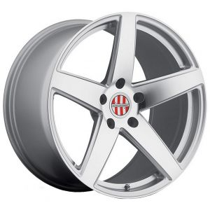 19x10.5 Victor Equipment Baden Silver w/ Mirror Cut Face (Rotary Forged)