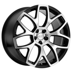 20x9 Coventry Ashford Gloss Black w/ Mirror Cut Face (Rotary Forged)