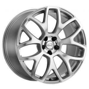 20x10.5 Coventry Ashford Silver w/ Mirror Machine Face (Rotary Forged)