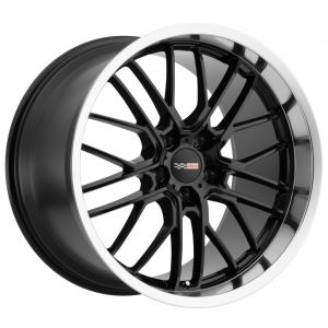17x9 Cray Eagle Gloss Black w/ Mirror Cut Lip