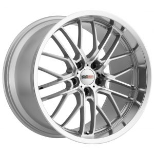 17x9 Cray Eagle Silver w/ Mirror Cut Lip