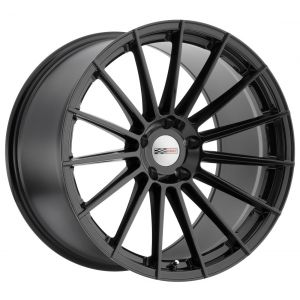 - Staggered full Set -(2) 19x9.5 Cray Mako Gloss Black (Rotary Forged)(2) 19x10.5 Cray Mako Gloss Black (Rotary Forged)