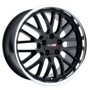 19x10.5 Cray Manta Gloss Black w/ Mirror Cut Lip