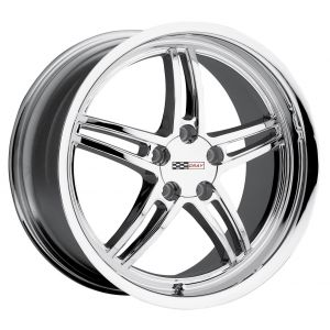 - Staggered full Set -(2) 17x9 Cray Scorpion Chrome(2) 18x10.5 Cray Scorpion Chrome