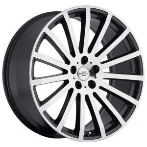 22x9.5 Redbourne Dominus Gloss Black w/ Mirror Cut Face
