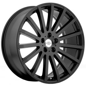 20x9.5 Redbourne Dominus All Matte black