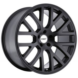 - Staggered full Set -(2) 20x8.5 TSW Donington Matte Black(2) 20x10 TSW Donington Matte Black