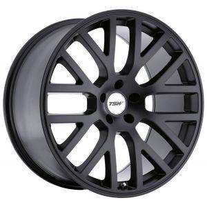 - Staggered full Set -(2) 18x8 TSW Donington Matte Black(2) 18x9.5 TSW Donington Matte Black