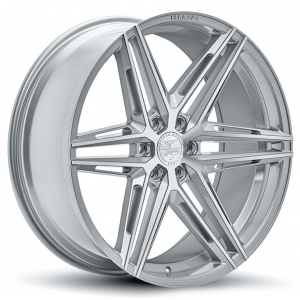 24x10 Ferrada FT4 Machine Silver