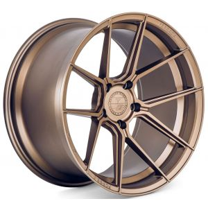 Staggered full Set - 20x9 Ferrada Forge-8 FR8 Matte Bronze (Rotary Forged) 20x10 Ferrada Forge-8 FR8 Matte Bronze (Rotary Forged)