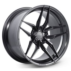 Staggered full Set - 20x10 Ferrada Forge-8 FR5 Matte Black (Rotary Forged) 20x11 Ferrada Forge-8 FR5 Matte Black (Rotary Forged)