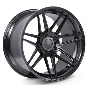 Staggered full Set - 20x10 Ferrada Forge-8 FR6 Matte Black (Rotary Forged) 20x11 Ferrada Forge-8 FR6 Matte Black (Rotary Forged)