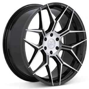 22x9.5 Ferrada FT3 Machine Black