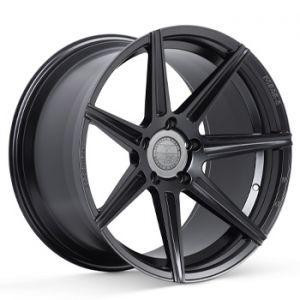 Staggered full Set - (2) 20x10.5 Ferrada Forge-8 FR7 Matte Black (Rotary Forged) (2) 20x12 Ferrada Forge-8 FR7 Matte Black (Rotary Forged)