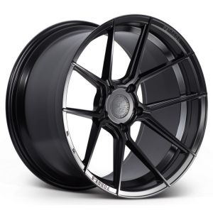 Staggered full Set - (2) 20x10 Ferrada Forge-8 FR8 Matte Black (Rotary Forged) (2) 20x11.5 Ferrada Forge-8 FR8 Matte Black (Rotary Forged)
