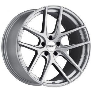 20x10 TSW Geneva Matte Titanium Silver (Rotary Forged)