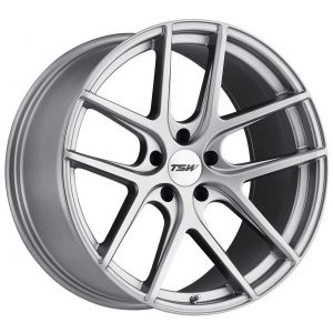 19x10.5 TSW Geneva Matte Titanium Silver (Rotary Forged)