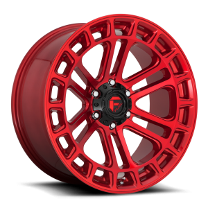 17x9 Fuel Offroad Wheels D719 Heater 6x135 -12 Offset 87.1 Centerbore Candy Red